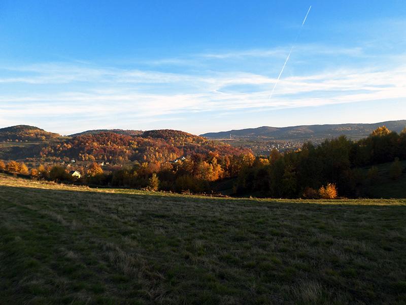 jesienny widok na Rajbrot