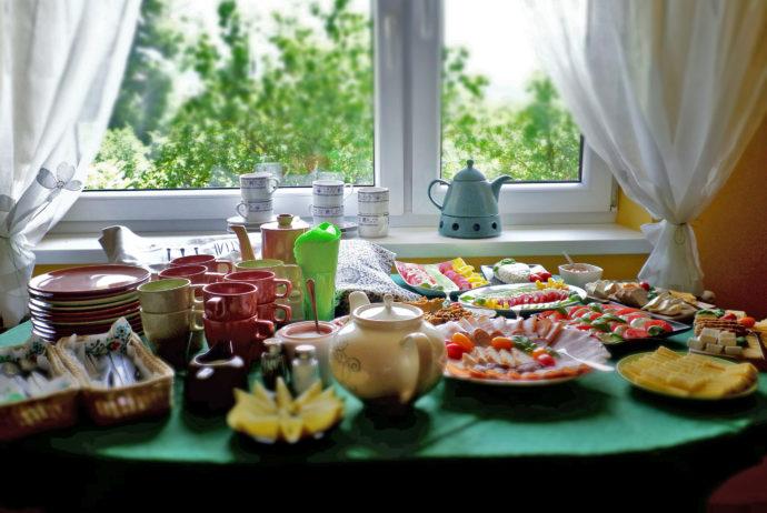 Domowe śniadania i obiadokolacje