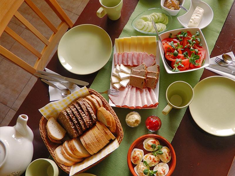 Agroturystyka śniadanie 2