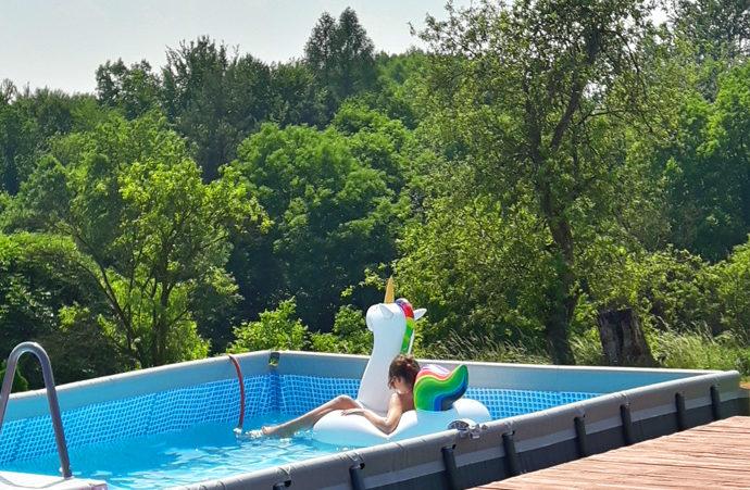 Agroturystyka z basenem